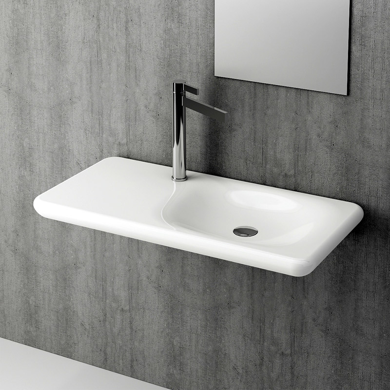 Fire-Basin-90x46-cm-white-glossy-with-tap-hole